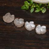 thumb image of 1ct Carved Flower Peach-Pink Moonstone (ID: 485288)