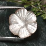thumb image of 5.2ct Carved Flower Mocha Moonstone (ID: 485310)