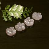 thumb image of 5.4ct Carved Flower Peach-Pink Moonstone (ID: 485340)