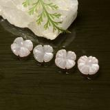 thumb image of 4.1ct Carved Flower Mocha Moonstone (ID: 485369)