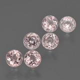 thumb image of 2.2ct Round Facet Light Pink Morganite (ID: 426197)