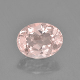 thumb image of 2ct Oval Facet Light Pink Morganite (ID: 457411)