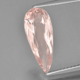 thumb image of 1.9ct Pear Facet Light Pink Morganite (ID: 457460)