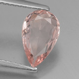 thumb image of 1.5ct Pear Facet Light Pink Morganite (ID: 457465)