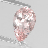 thumb image of 1.5ct Pear Facet Light Pink Morganite (ID: 457532)