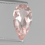 thumb image of 1.5ct Pear Facet Light Pink Morganite (ID: 457535)