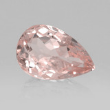 thumb image of 1.5ct Pear Facet Light Pink Morganite (ID: 457570)