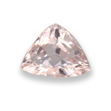 thumb image of 0.7ct Trillion Facet Light Pink Morganite (ID: 458072)