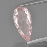 thumb image of 0.9ct Pear Facet Light Pink Morganite (ID: 458124)