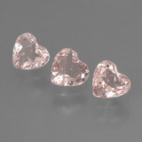 thumb image of 1.2ct Heart Facet Light Pink Morganite (ID: 460943)