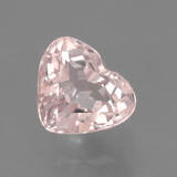 thumb image of 0.7ct Heart Facet Light Pink Morganite (ID: 460947)