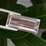 thumb image of 3.3ct Baguette Step Cut Light Pink Morganite (ID: 465667)