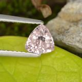 thumb image of 0.7ct Trillion Facet Light Pink Morganite (ID: 467025)