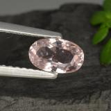 thumb image of 0.7ct Oval Facet Light Pink Morganite (ID: 467043)