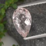 thumb image of 1ct Poire facette Rose clair Morganite (ID: 478166)