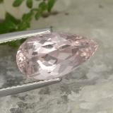 thumb image of 4.3ct Pear Facet Light Pink Morganite (ID: 478476)