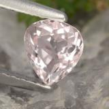 0.55 ct Pear Facet Light Pink Morganite Gem 5.75 mm x 5 mm (Photo B)