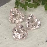 thumb image of 2ct Heart Facet Light Pink Morganite (ID: 478786)