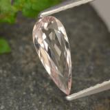 thumb image of 0.6ct 梨形切面 浅粉色 铯绿柱石 (ID: 478815)