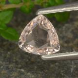 thumb image of 0.4ct Trillion Facet Light Pink Morganite (ID: 478821)