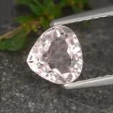 thumb image of 0.7ct Pear Facet Light Pink Morganite (ID: 478829)