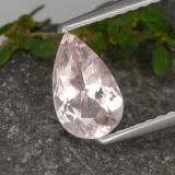 thumb image of 0.7ct Pear Facet Light Pink Morganite (ID: 478832)