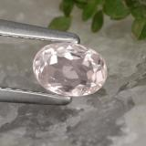 thumb image of 0.6ct Oval Facet Light Pink Morganite (ID: 478849)