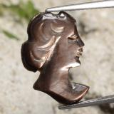 thumb image of 4.1ct Carved Cameo Silver Mother of Pearl (ID: 475202)