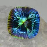 thumb image of 23.1ct Cushion Concave Cut Top Rainbow Mystic Quartz (ID: 469243)