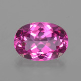thumb image of 7.2ct Oval Facet Purplish Pink Mystic Topaz (ID: 402687)