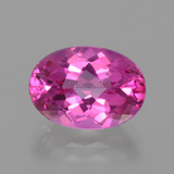 thumb image of 7.1ct Oval Facet Purplish Pink Mystic Topaz (ID: 402721)