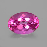 thumb image of 6.9ct Oval Facet Purplish Pink Mystic Topaz (ID: 402722)