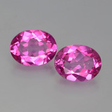 thumb image of 4.1ct Oval Facet Purplish Pink Mystic Topaz (ID: 402737)