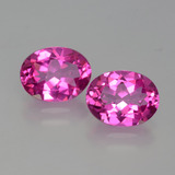 thumb image of 4.1ct Oval Facet Purplish Pink Mystic Topaz (ID: 402744)
