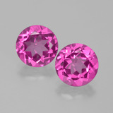 thumb image of 4.2ct Round Facet Purplish Pink Mystic Topaz (ID: 402768)