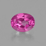 thumb image of 2.3ct Oval Facet Purplish Pink Mystic Topaz (ID: 402846)