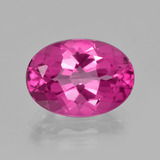 thumb image of 7.2ct Oval Facet Purplish Pink Mystic Topaz (ID: 402872)
