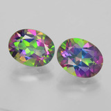 thumb image of 4.7ct Oval Facet Rainbow Mystic Topaz (ID: 402907)