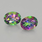 thumb image of 4.4ct Oval Facet Rainbow Mystic Topaz (ID: 402944)