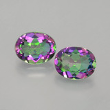 thumb image of 4.3ct Oval Facet Rainbow Mystic Topaz (ID: 402950)