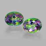 thumb image of 4.3ct Oval Facet Rainbow Mystic Topaz (ID: 403431)