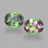 thumb image of 4.2ct Oval Facet Rainbow Mystic Topaz (ID: 403434)