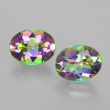 thumb image of 4.4ct Oval Facet Rainbow Mystic Topaz (ID: 403437)