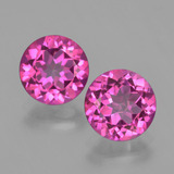 thumb image of 4.4ct Round Facet Purplish Pink Mystic Topaz (ID: 403735)