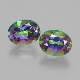 thumb image of 4.3ct Oval Facet Rainbow Mystic Topaz (ID: 403787)