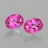 thumb image of 4.3ct Oval Facet Purplish Pink Mystic Topaz (ID: 404491)