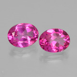 thumb image of 4.5ct Oval Facet Purplish Pink Mystic Topaz (ID: 404853)