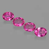thumb image of 8.4ct Oval Facet Purplish Pink Mystic Topaz (ID: 404973)