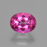 thumb image of 2.4ct Oval Facet Purplish Pink Mystic Topaz (ID: 407813)