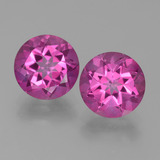 thumb image of 6.4ct Round Facet Purplish Pink Mystic Topaz (ID: 451795)